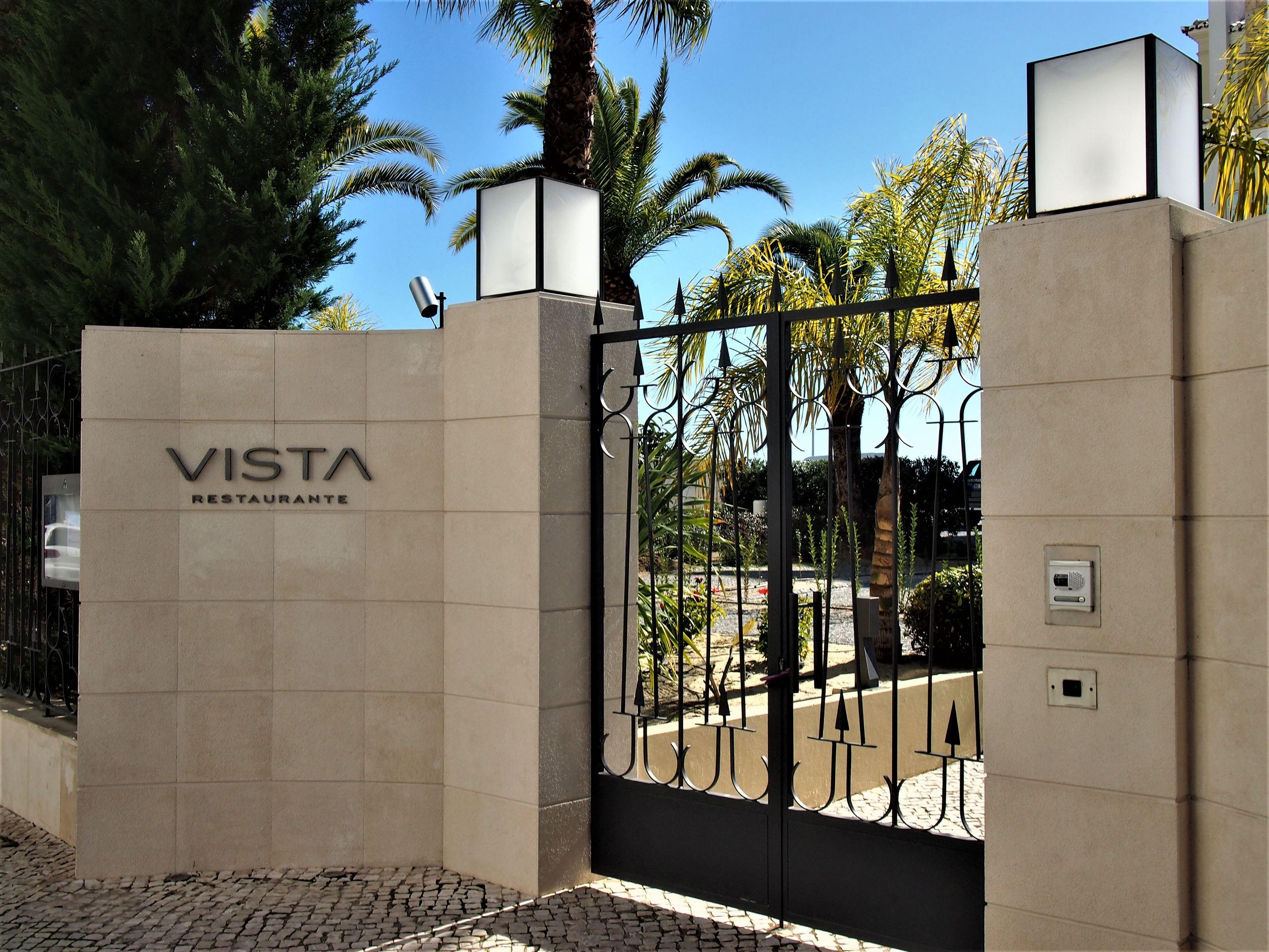 The Vista restaurant at the Bela Vista hotel, Portimão