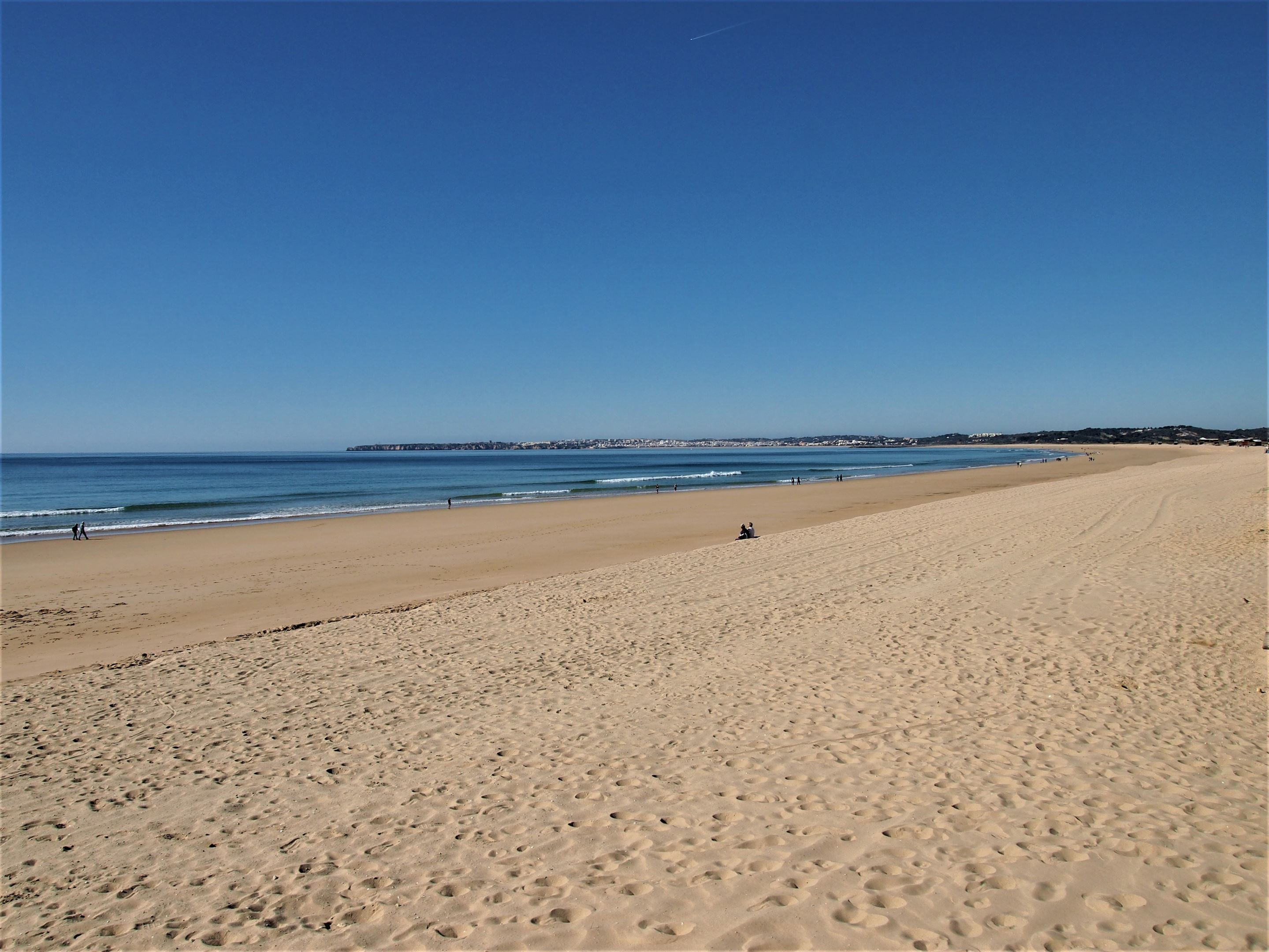Praia de Alvor - more than 3.5km of soft golden sand