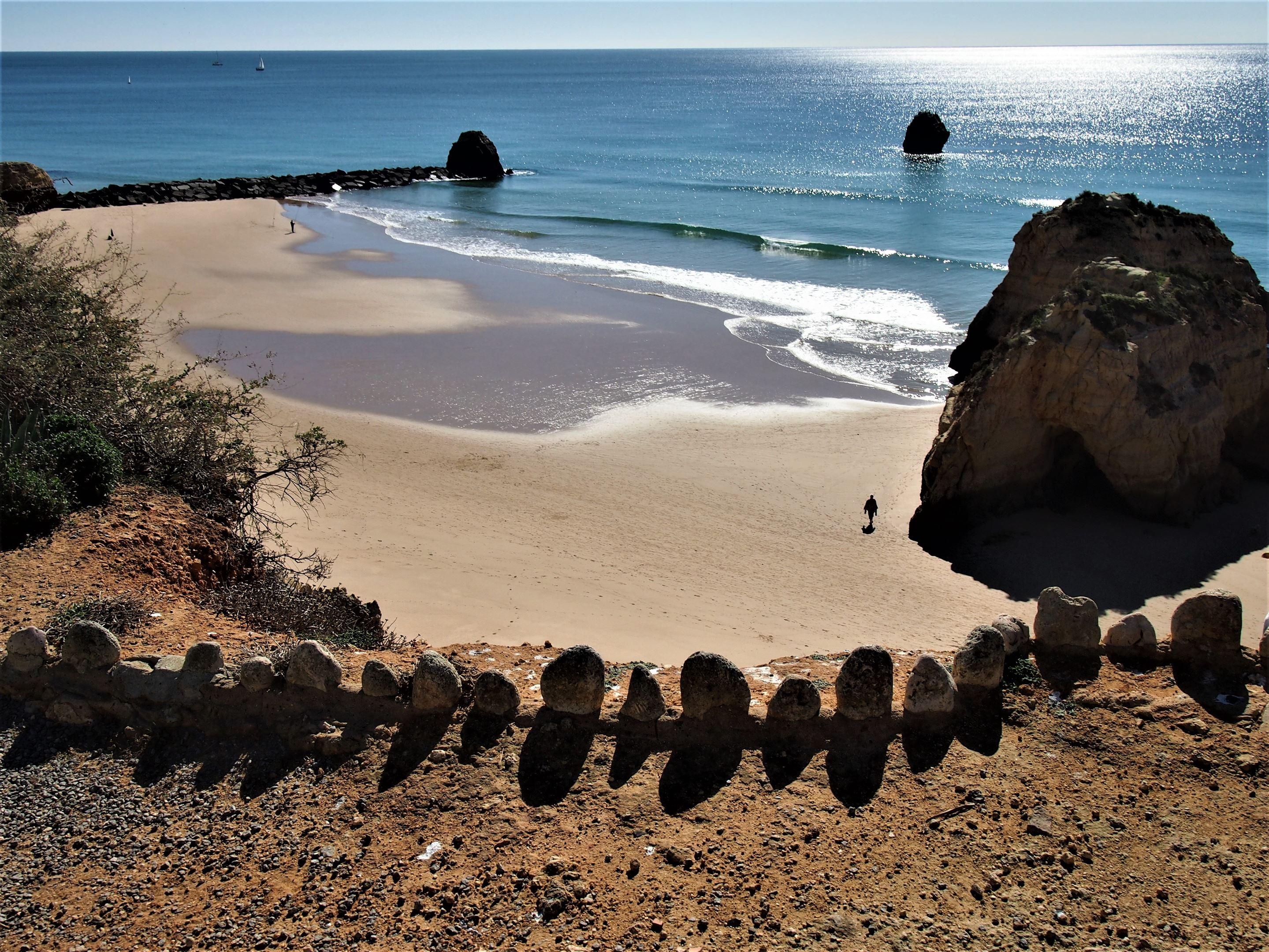 Praia dos Três Castelos, Portimão