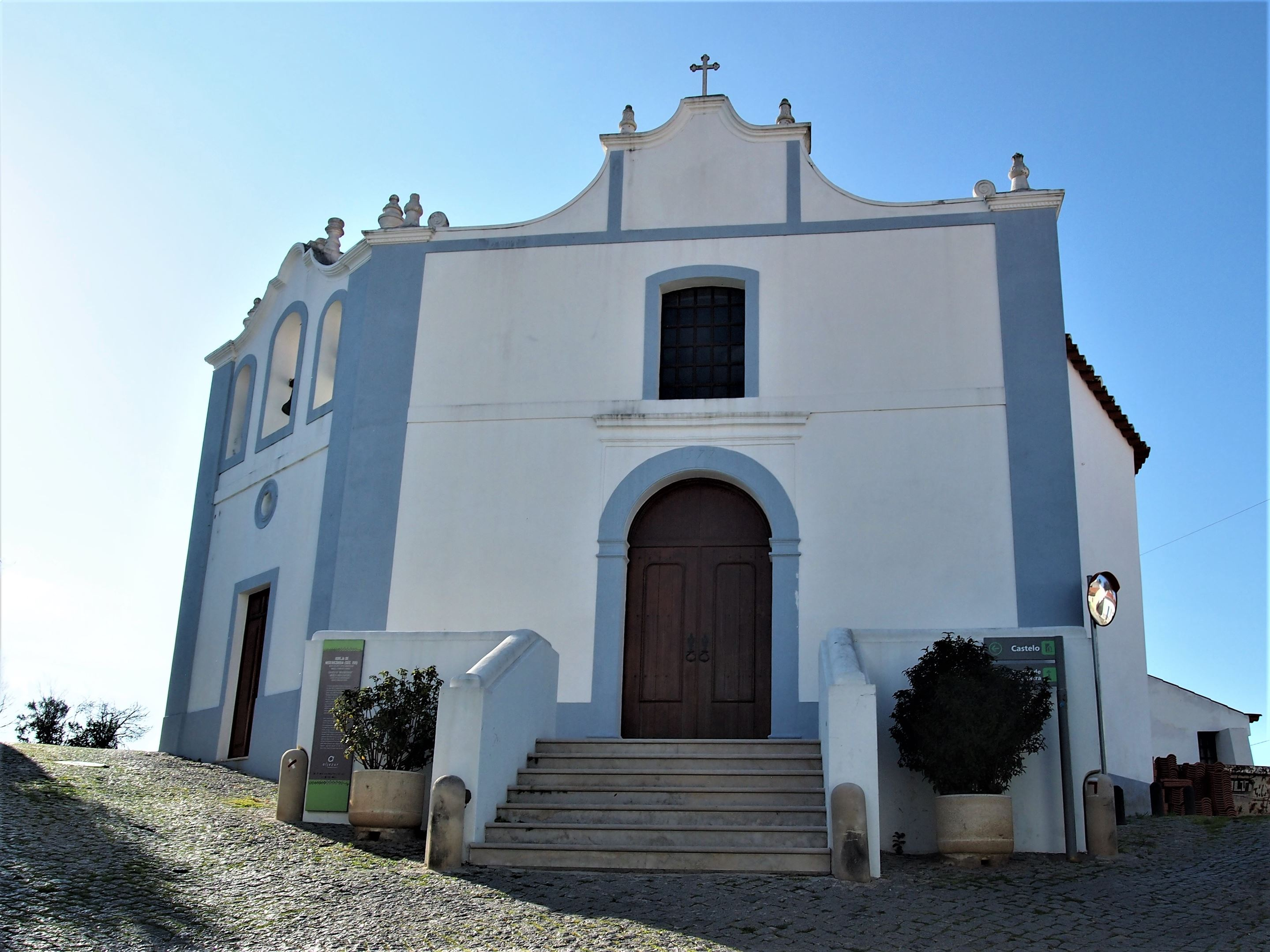 Igreja da Misericórdia, the main church in the old town of Aljezur, Algarve