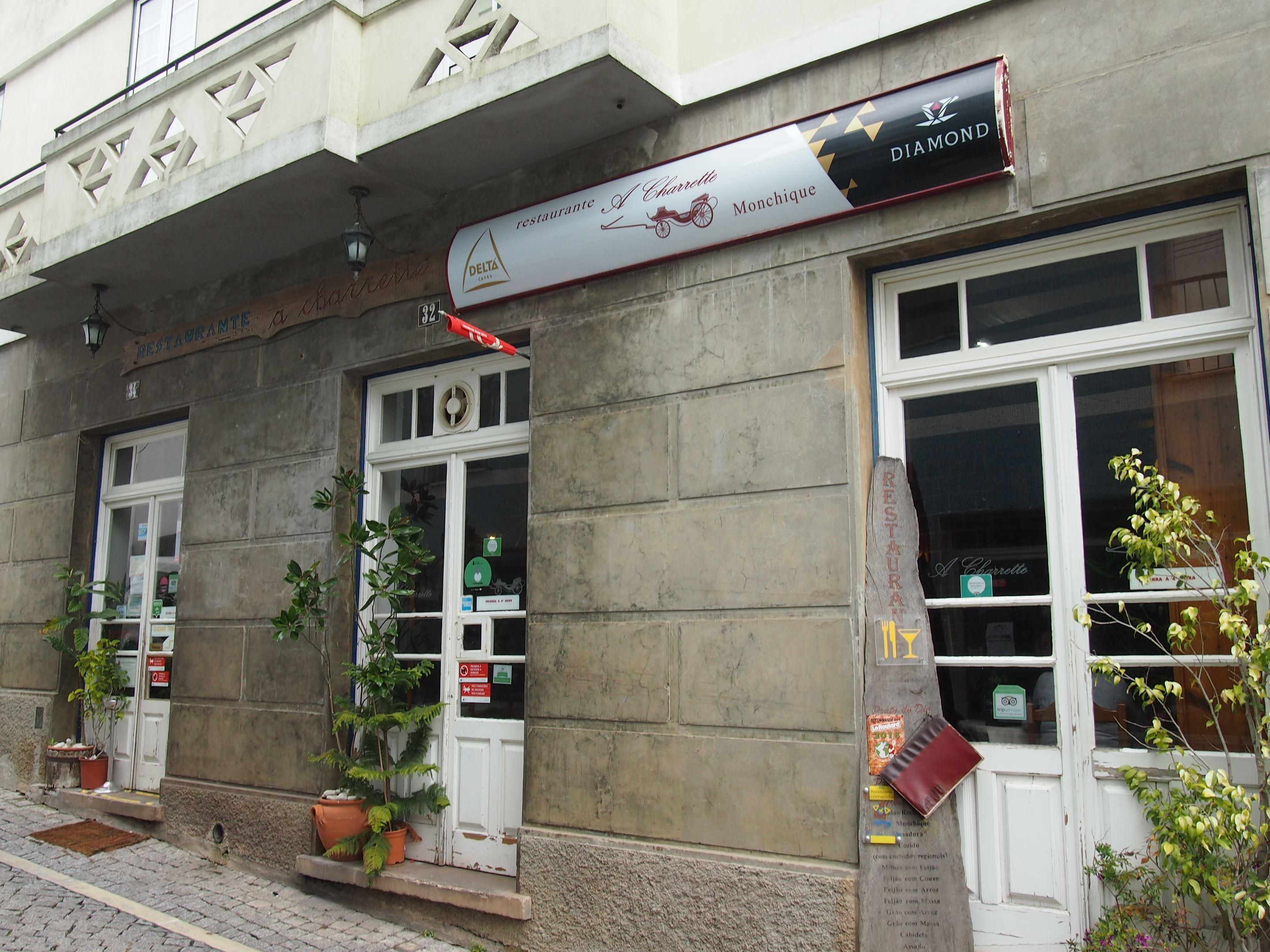 A Charette restaurant, Monchique
