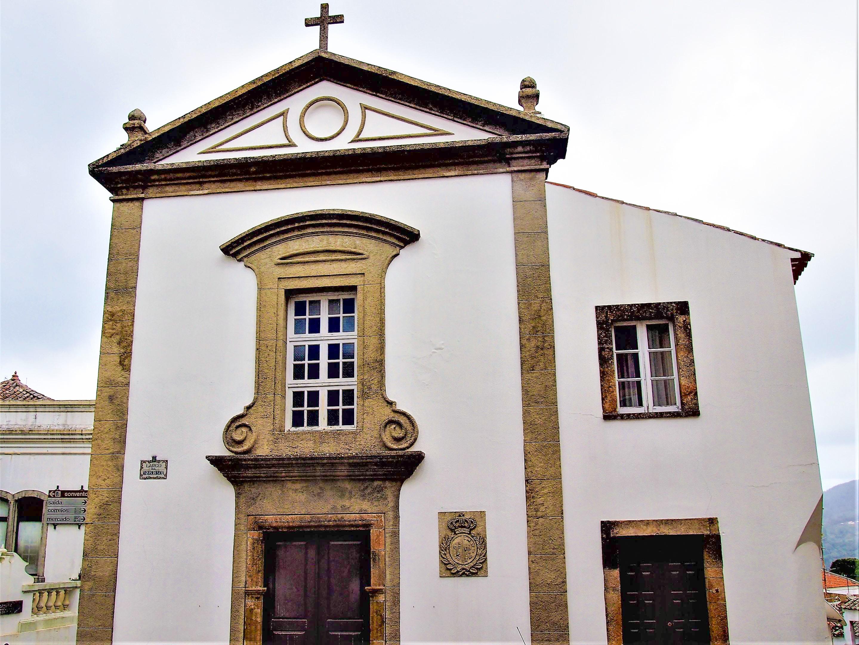 La Igreja de São Sebastião en Monchique