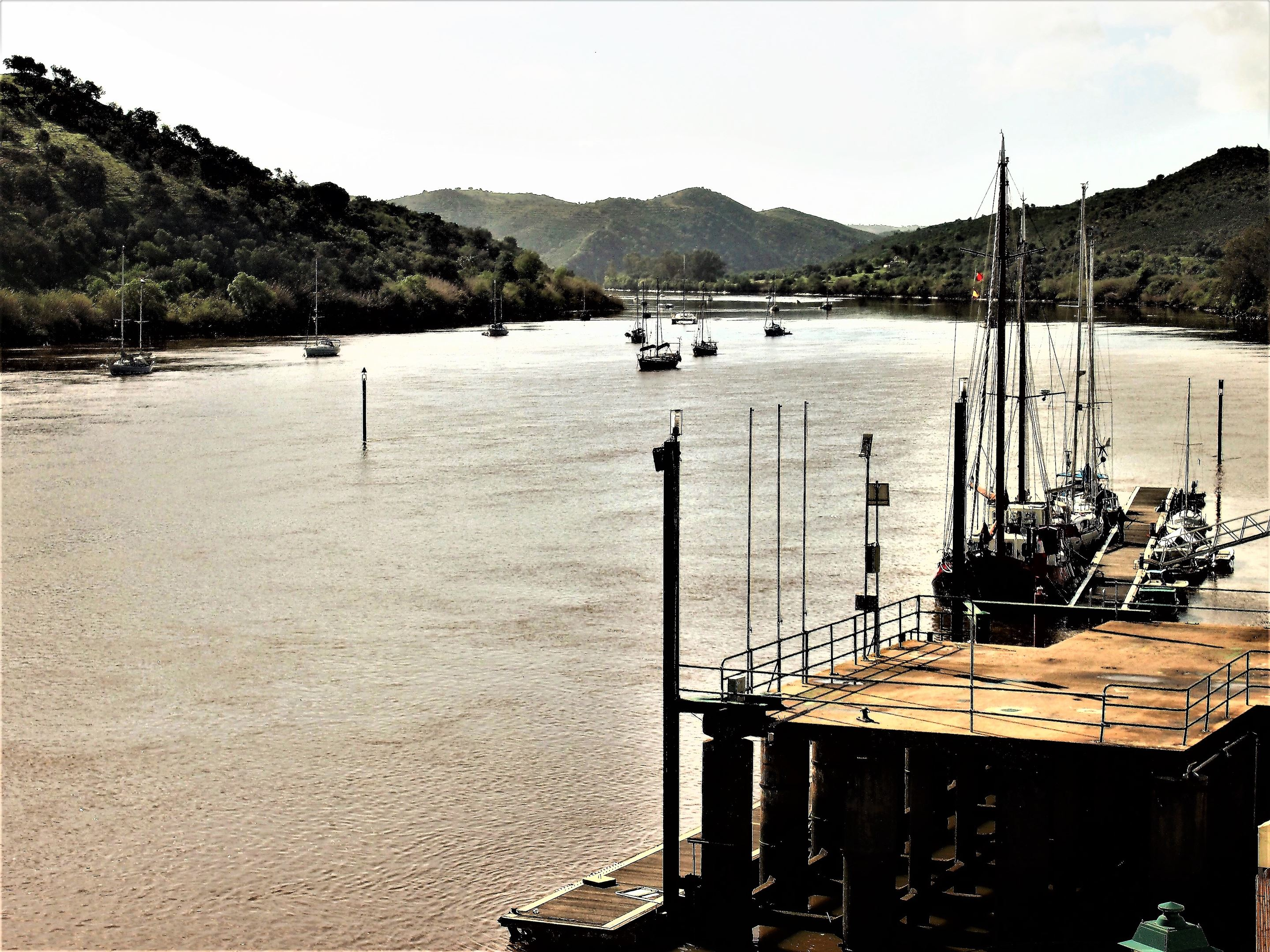 The Guadiana River, Alcoutim where you can take a number of excursions on the river