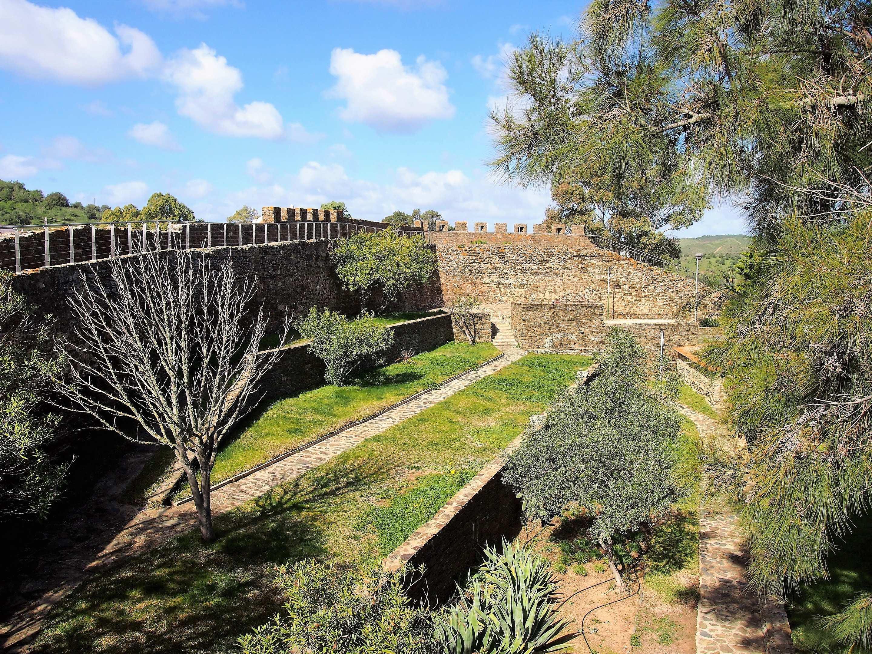 Inside Alcoutim Castle, Portugal