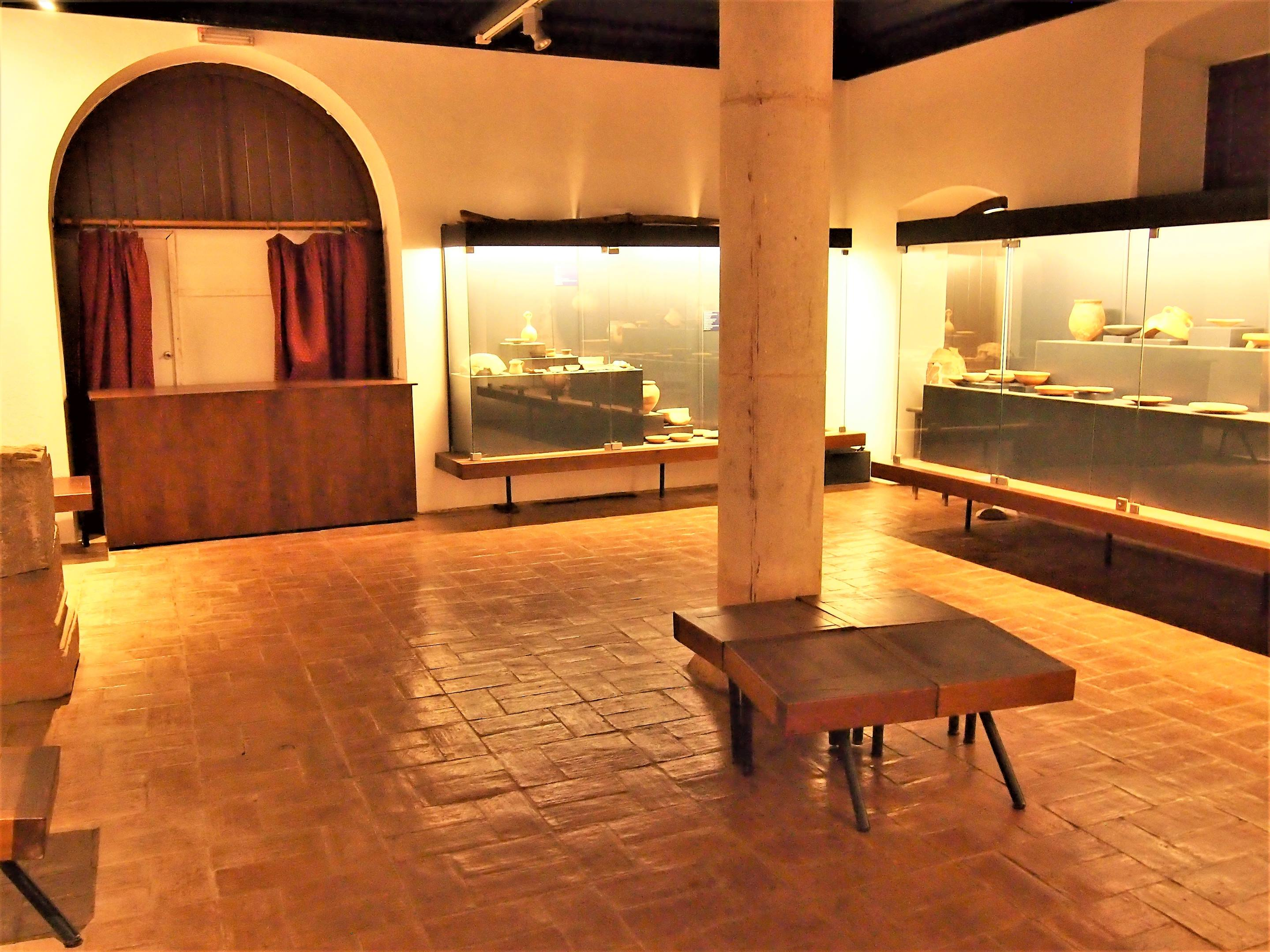 The archaeological museum within the Castro Marim castle