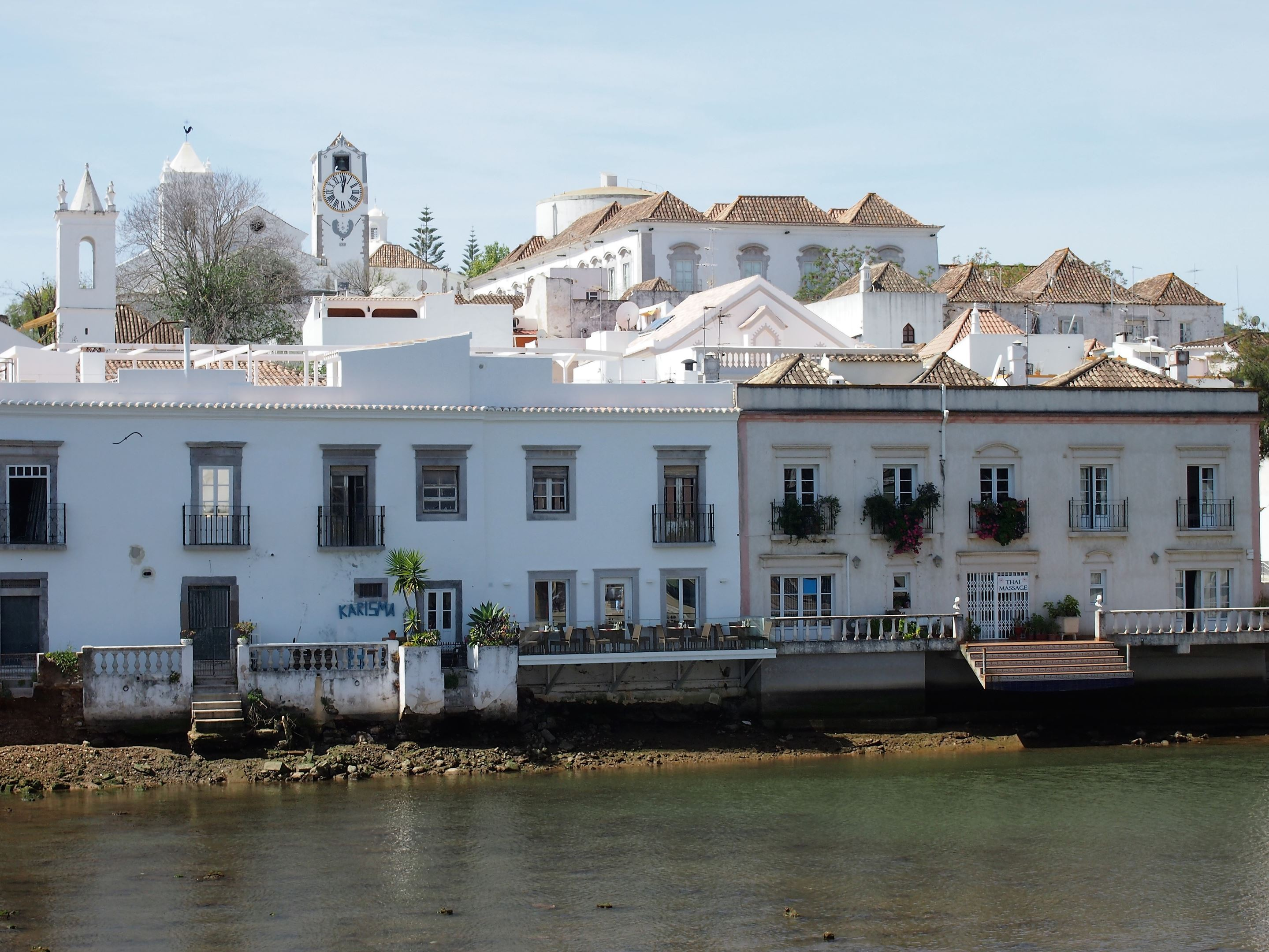 The Gilão River in Tavira