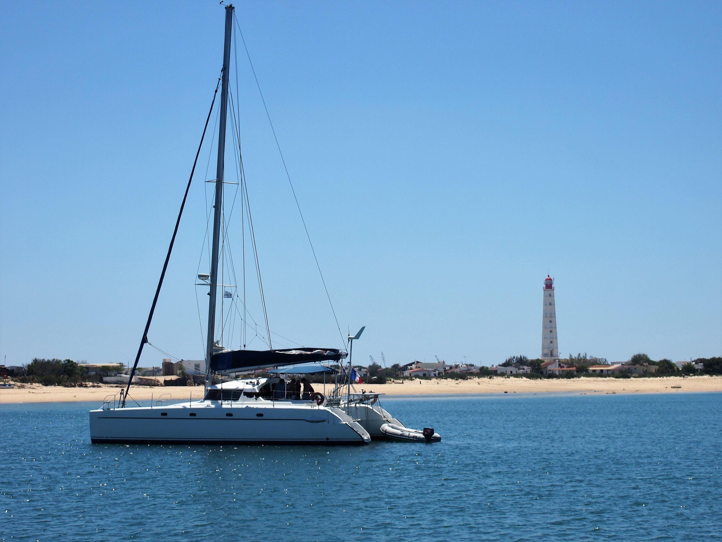 Praia do Farol, Ilha da Culatra. (Farol means lighthouse. The beach on the western end of Culatra Island)