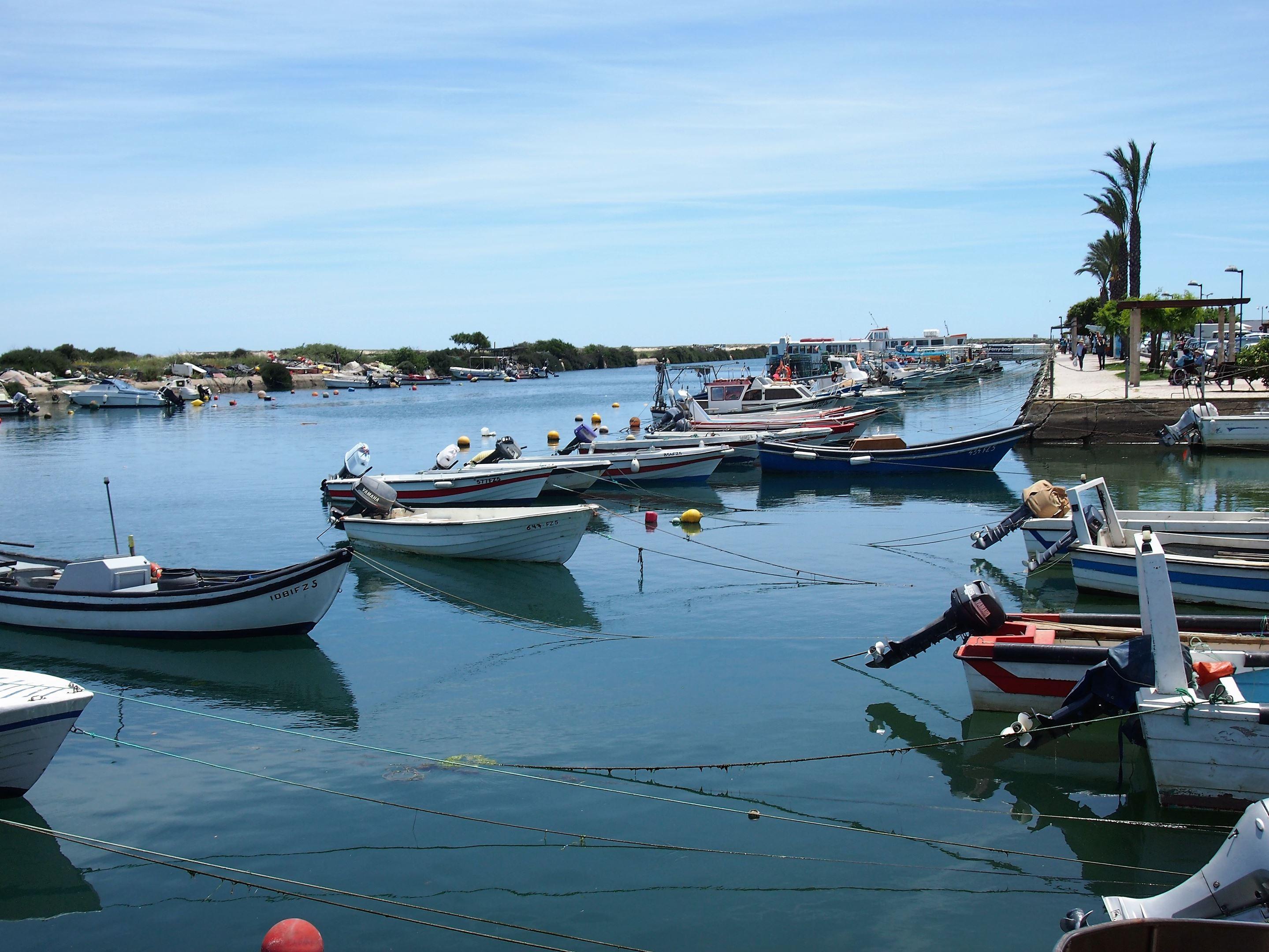 Vista do passeio marítimo, Fuseta