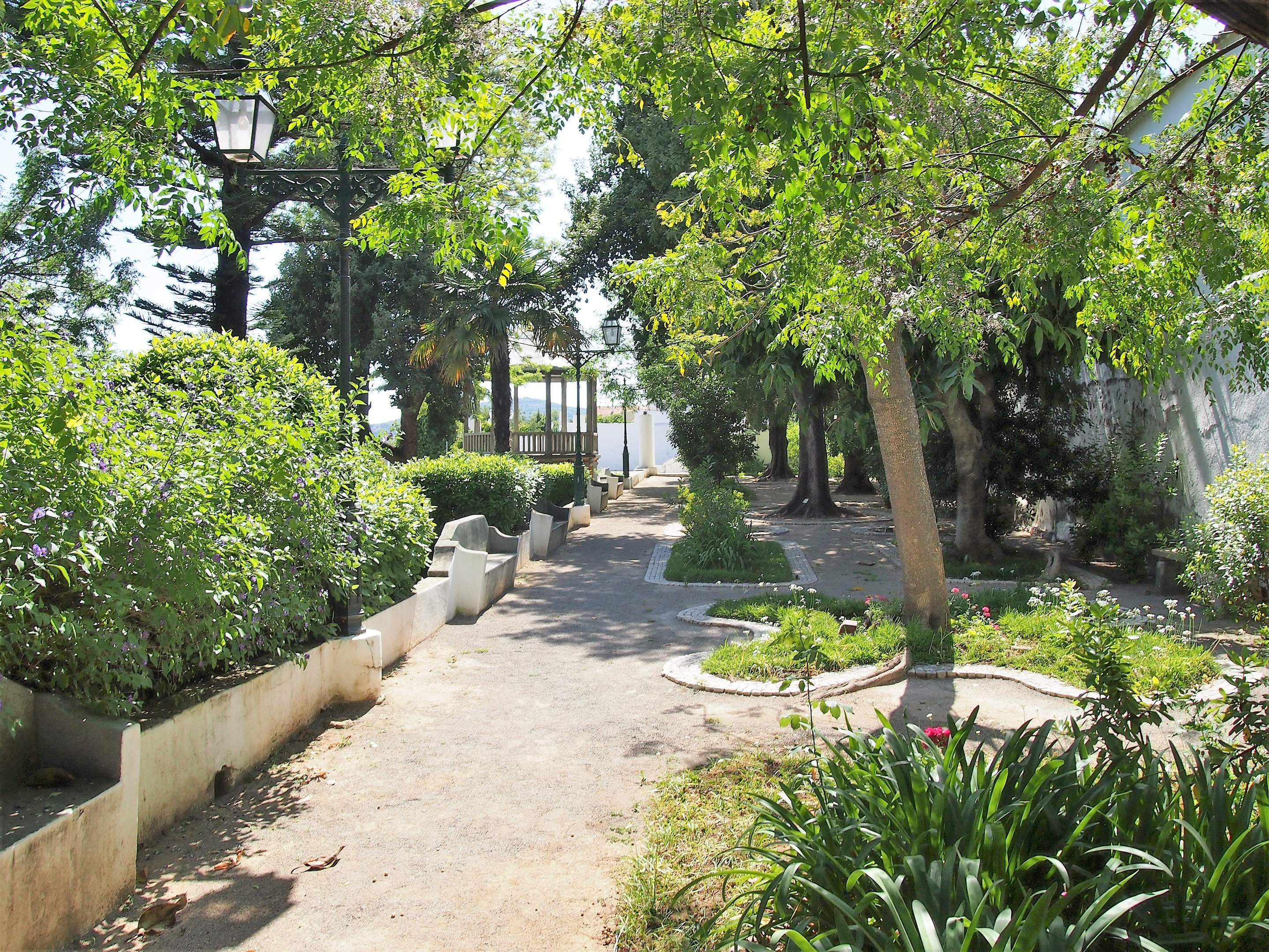 Jardim da Verbena in São Brás de Alportel. Formerly the gardens to an Episcopal Palace where the Bishops from the Algarve would reside in the summer months.