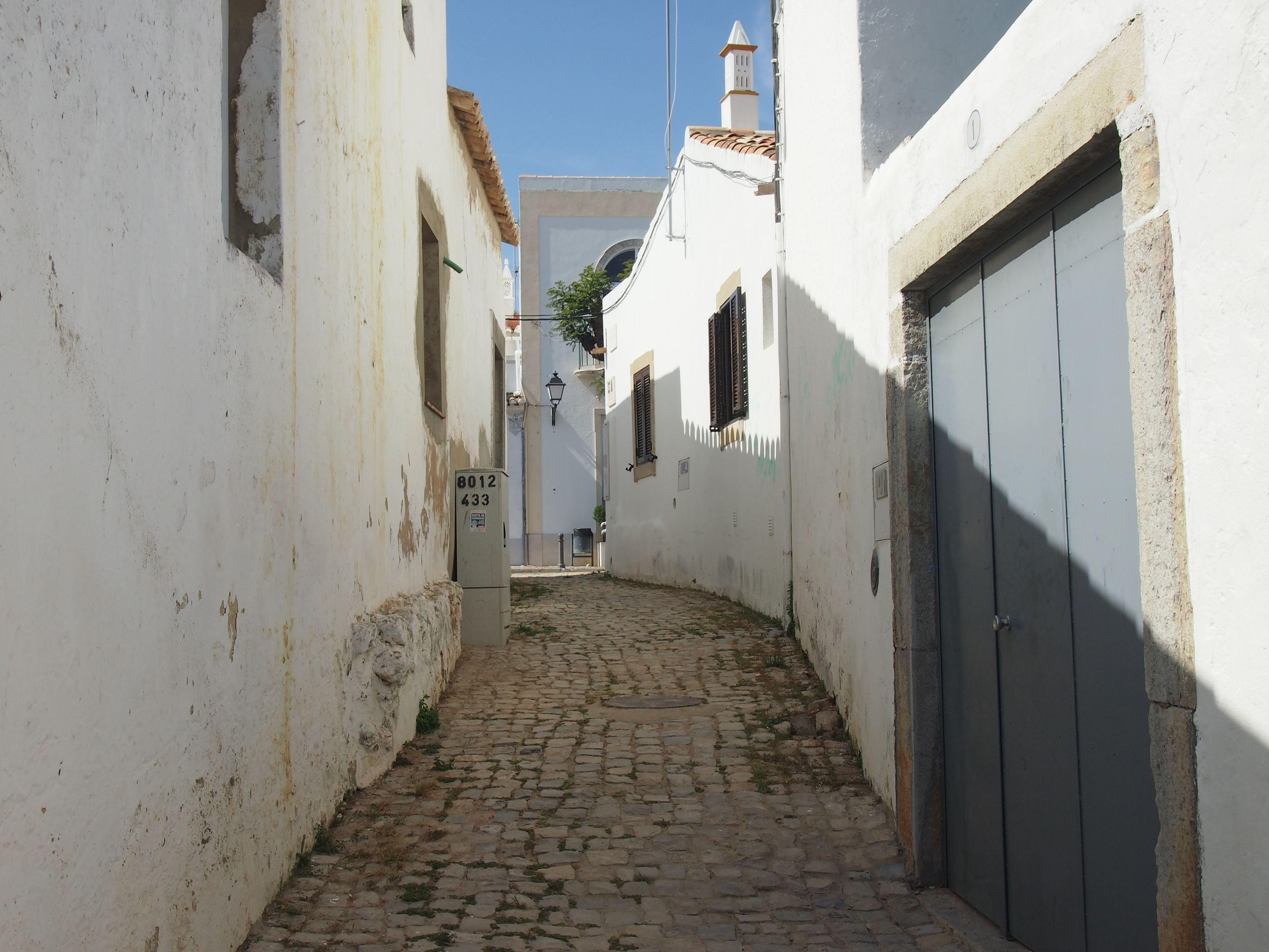 The Roman road in São Brás de Alportel, Calçadinha Romana