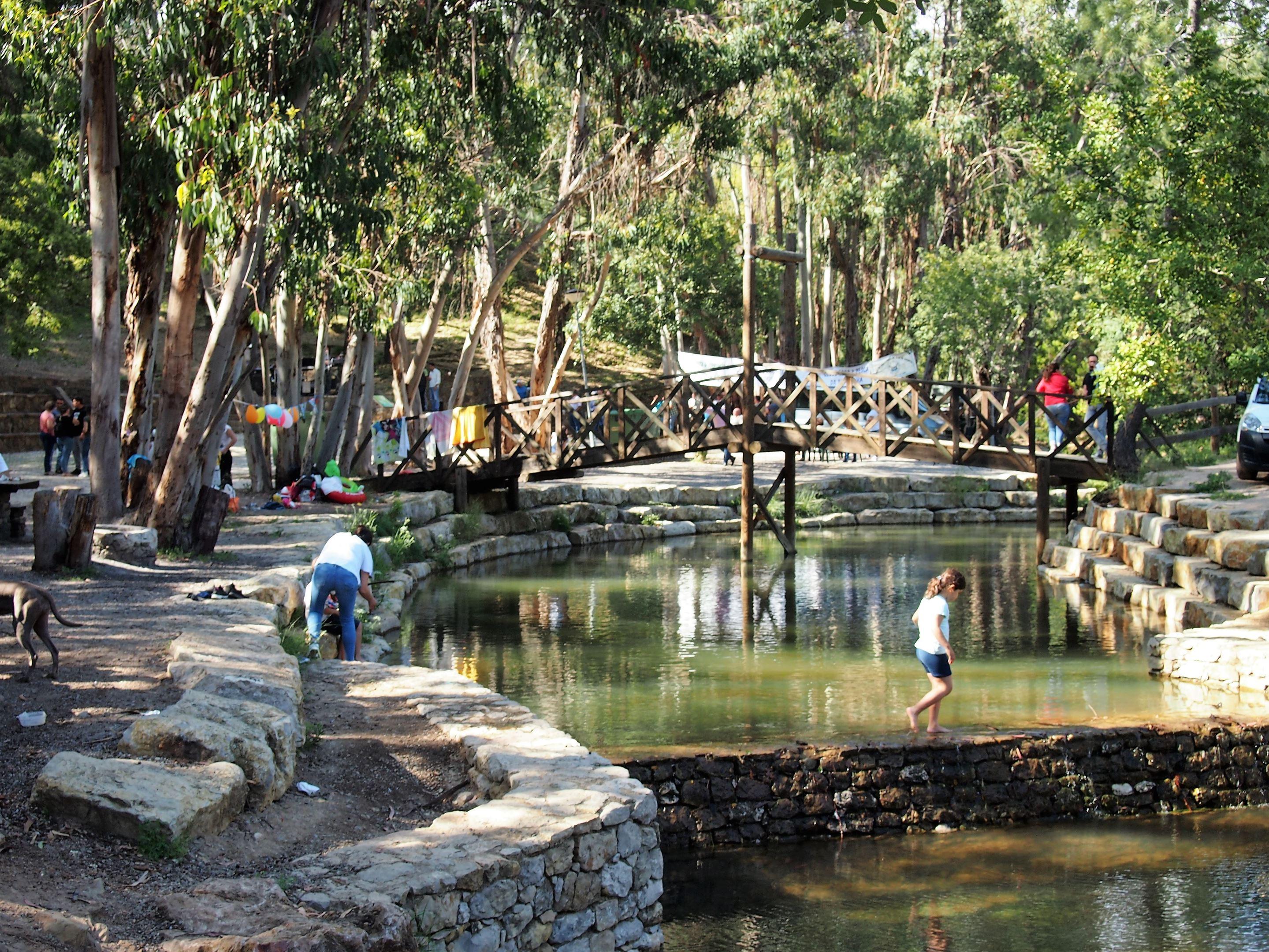 Parque da Fonte Férrea, cerca de São Brás de Alportel
