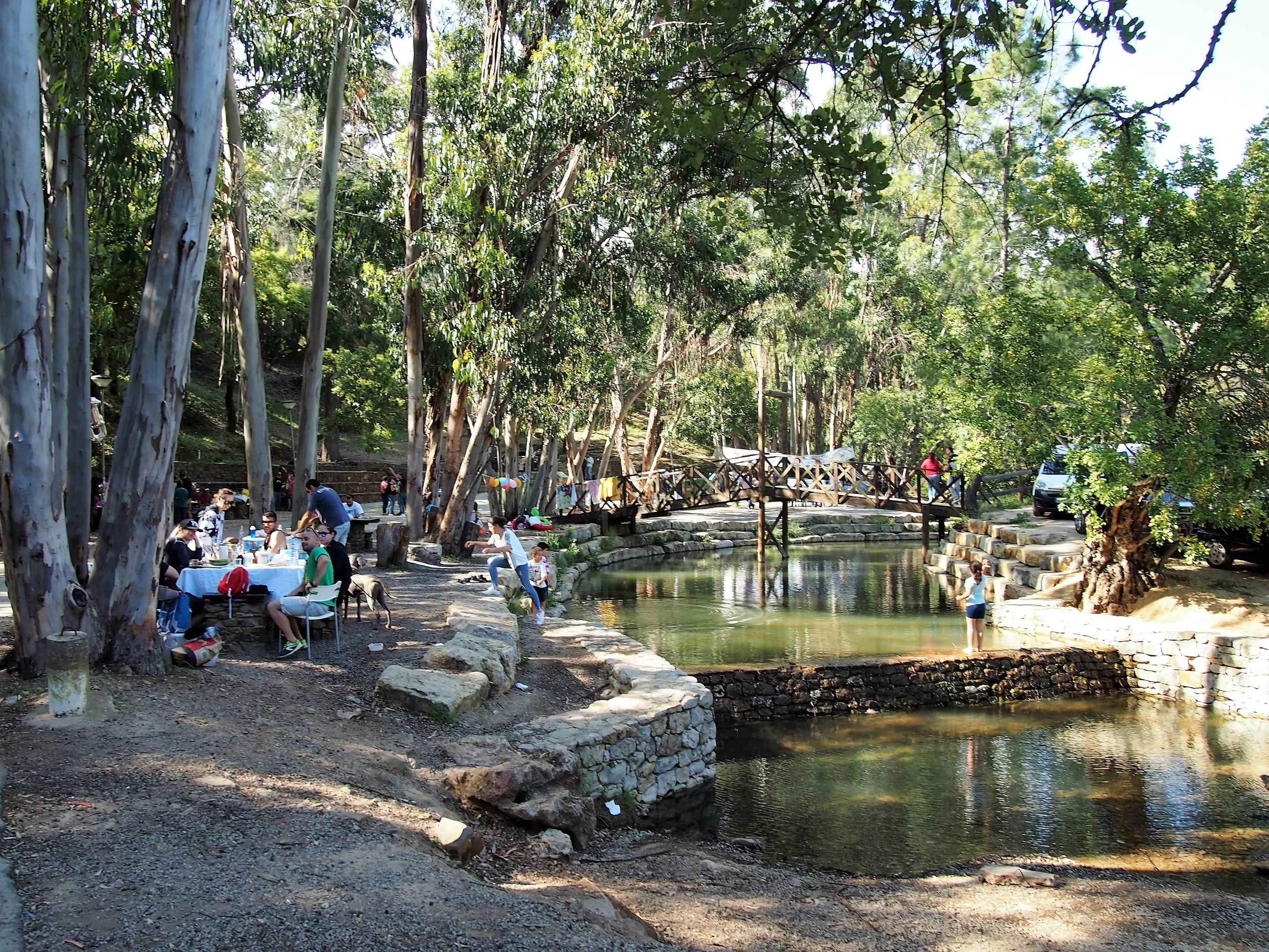 The park of Fonte Férrea, in São Brás de Alportel