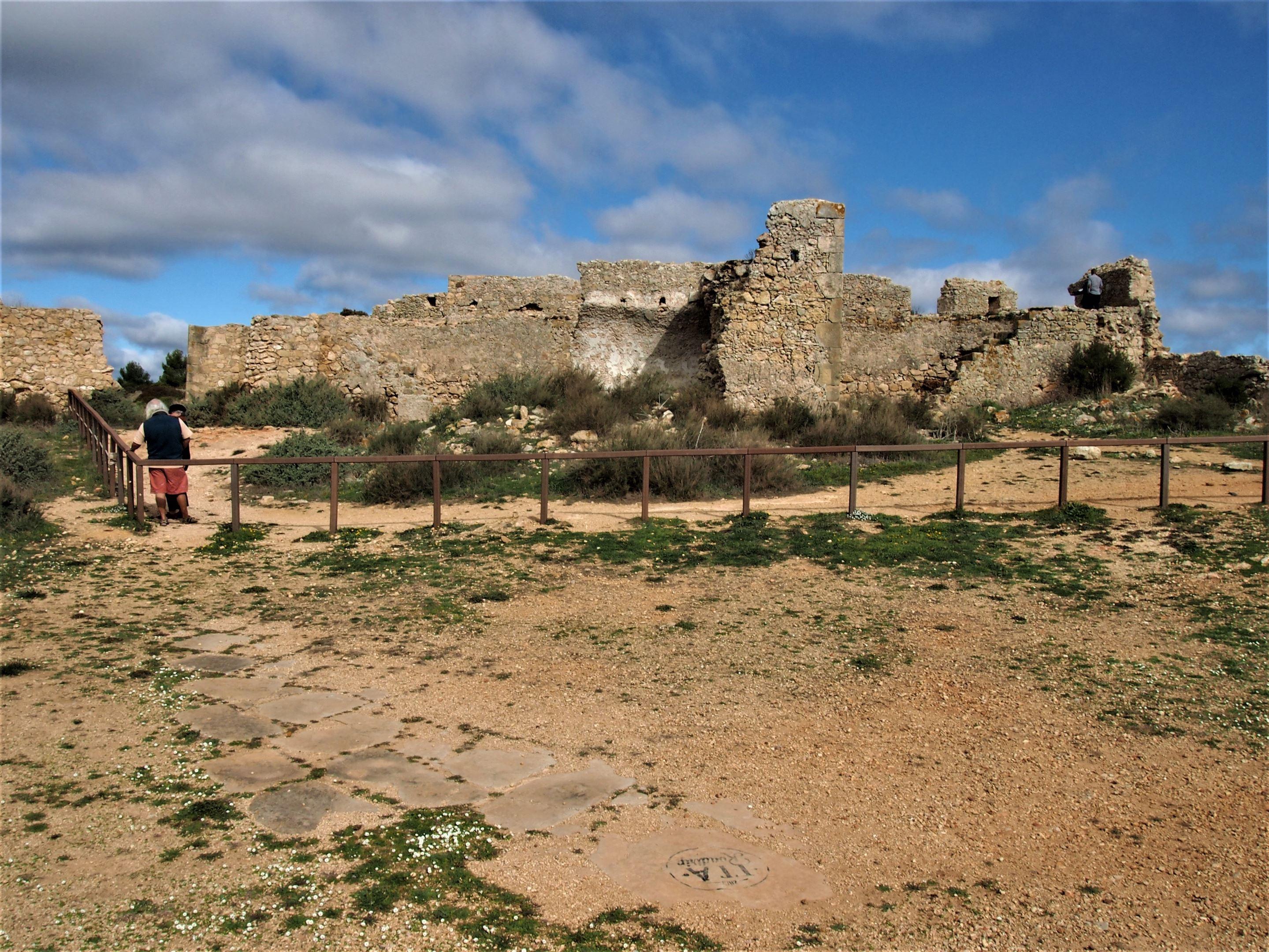 Forte de Almádena na região de Vila do Bispo, Algarve