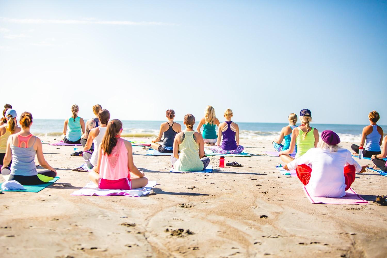 My Sunrise mini-yoga retreat on a lost island, Algarve, Portugal