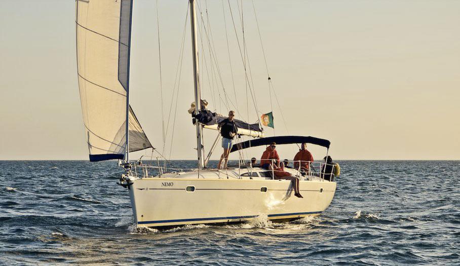 voilier Jeanneau 43 en Algarve