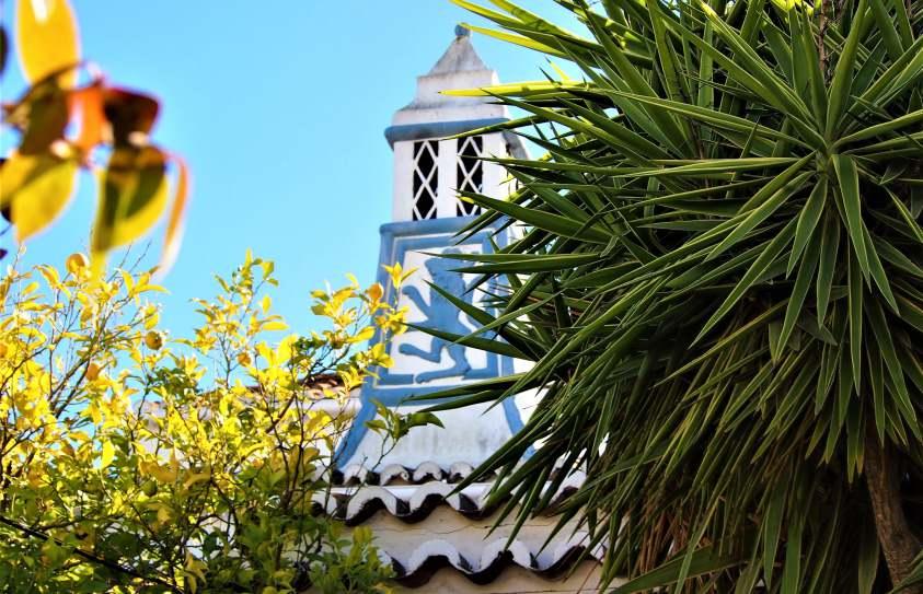 Ornamented chimney, algarve