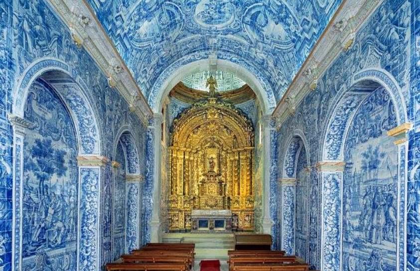 Ornamented portuguese tiles