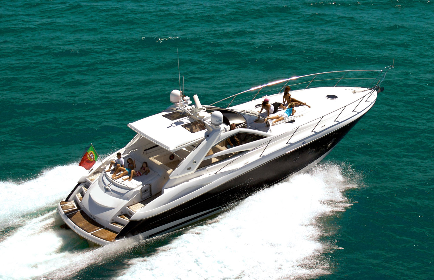 Sunseeker Luxury Yacht Charter Algarve