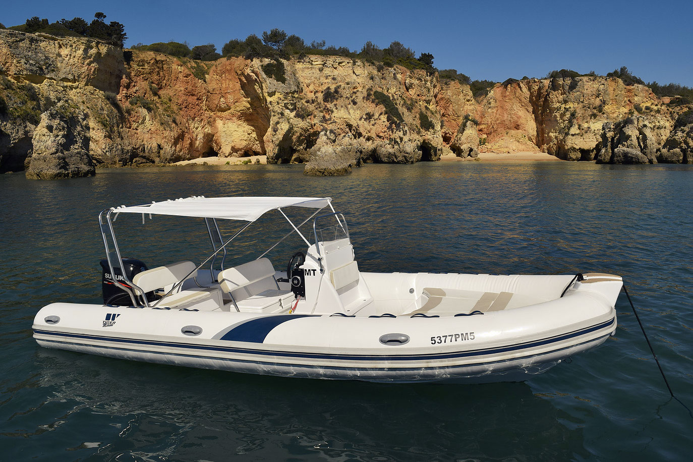 Tiger 620 PL Motor Boat Charter in Algarve