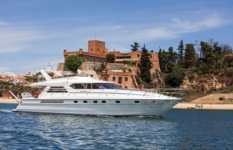 Princess 66 Yacht de luxe en Algarve, Portugal